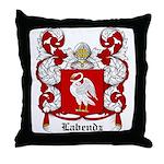 Labendz Coat of Arms Throw Pillow
