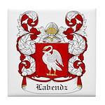 Labendz Coat of Arms Tile Coaster