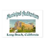 Long Beach Municipal Audi Postcards (Package of 8)