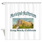 Long Beach Municipal Auditorium Shower Curtain