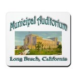 Long Beach Municipal Auditorium Mousepad
