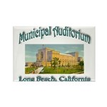 Long Beach Municipal A Rectangle Magnet (100 pack)