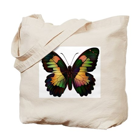 Luminous Butterfly Tote Bag