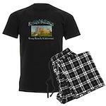 Long Beach Municipal Auditoriu Men's Dark Pajamas