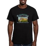 Long Beach Municipal A Men's Fitted T-Shirt (dark)
