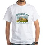 Long Beach Municipal Auditorium White T-Shirt