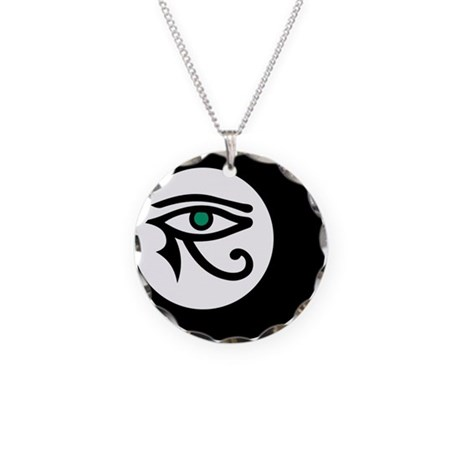 LunaSees Necklace Circle Charm