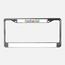 Nathaniel License Plate Frame