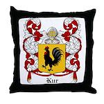Kur Coat of Arms Throw Pillow