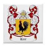 Kur Coat of Arms Tile Coaster