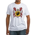 Kur Coat of Arms Fitted T-Shirt