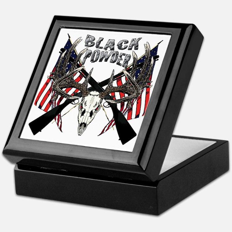 Black powder buck Keepsake Box