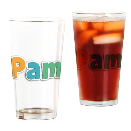 Pam Drinking Glass