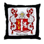 Kryszpin Coat of Arms Throw Pillow