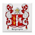 Kryszpin Coat of Arms Tile Coaster