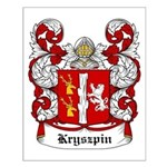 Kryszpin Coat of Arms Small Poster