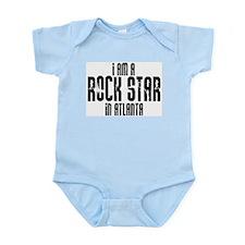 Rock Star In Atlanta Infant Creeper
