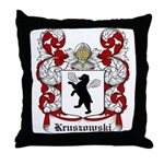 Kruszowski Coat of Arms Throw Pillow