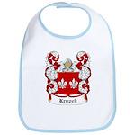 Krupek Coat of Arms Bib