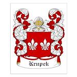 Krupek Coat of Arms Small Poster