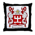 Kroszynski Coat of Arms Throw Pillow