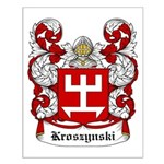 Kroszynski Coat of Arms Small Poster