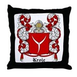 Kroje Coat of Arms Throw Pillow
