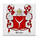 Kroje Coat of Arms Tile Coaster