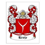 Kroje Coat of Arms Small Poster