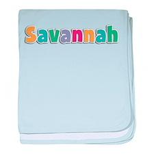 Savannah baby blanket