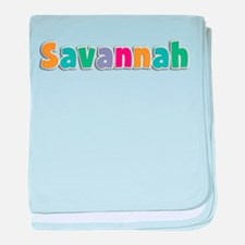 Savannah baby blanket
