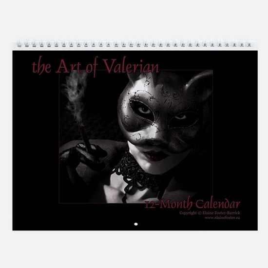 Art of Valerian Horizontal Wall Calendar