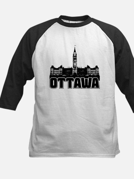 Ottawa Skyline Kids Baseball Jersey