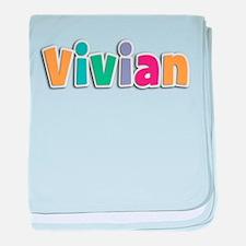 Vivian baby blanket