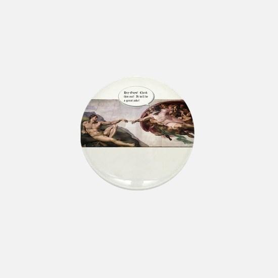 Great Joke Mini Button (100 pack)