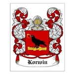 Korwin Coat of Arms Small Poster