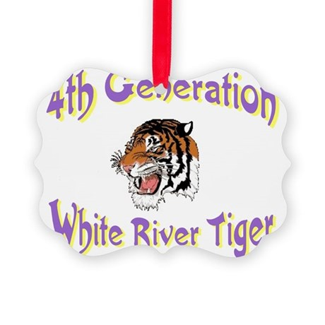 4thgentiger.jpg Picture Ornament