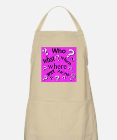 Primary Questions BBQ Apron