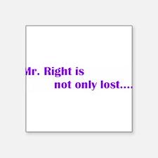 """mrright.GIF Square Sticker 3"""" x 3"""""""