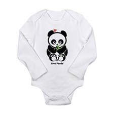Love Panda® Long Sleeve Infant Bodysuit