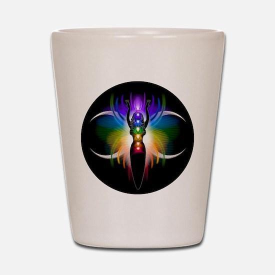 Chakra Goddess Shot Glass
