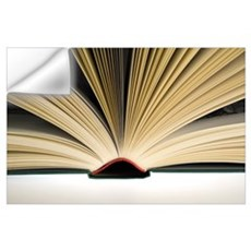 Open book Wall Decal