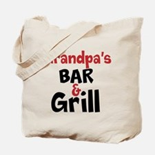 Personalized Bar and Grill Tote Bag