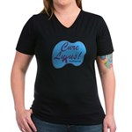 cure_lupusnew.png Women's V-Neck Dark T-Shirt