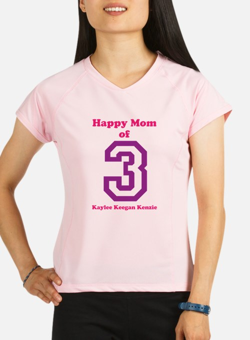 Personalized Mother Performance Dry T-Shirt
