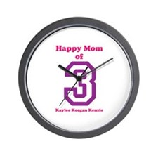 Personalized Mother Wall Clock