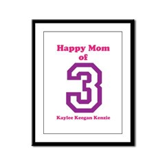 Personalized Mother Framed Panel Print