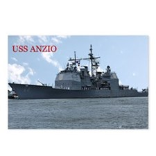 USS Anzio_2 Postcards (Package of 8)