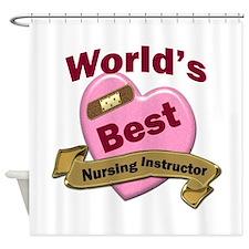 Cute Nursing instructor Shower Curtain