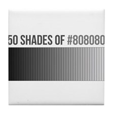 Cute Shades grey Tile Coaster